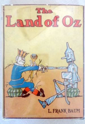 Land of Oz Copp Clark Dust Jacket