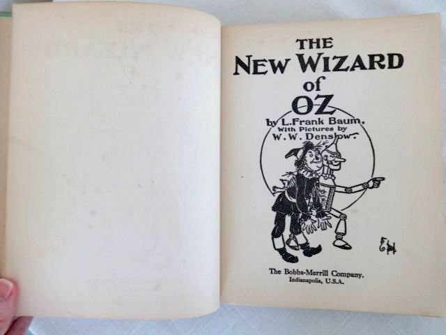 WIZARD OF OZ Book 1930s w/ Dust Jacket 5th Edn L Frank Baum 8 Color Plates & WIZARD OF OZ Book 1930s w/ Dust Jacket 5th Edn L Frank Baum 8 Color ...