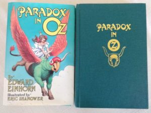 Paradox in Oz Signed Book