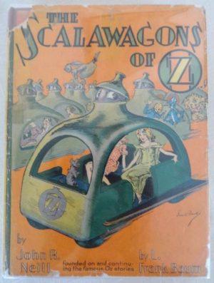 Scalawagons of Oz Dust Jacket