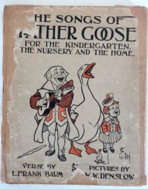 Songs of Father Goose Book Dust Jacket
