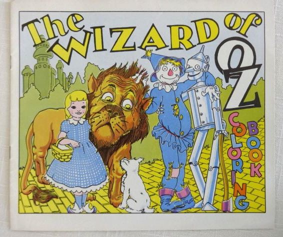 SWIFT\'s Peanut Butter Wizard of Oz Coloring Book 1955 Promotional ...