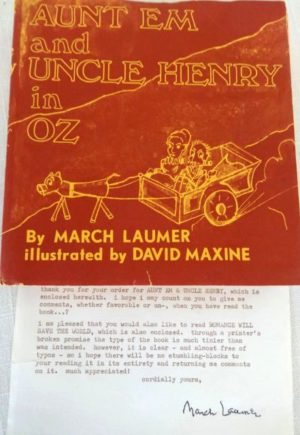 Aunt Em and Uncle Henry in Oz Book