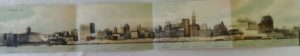 Chicago Panoramic Postcard