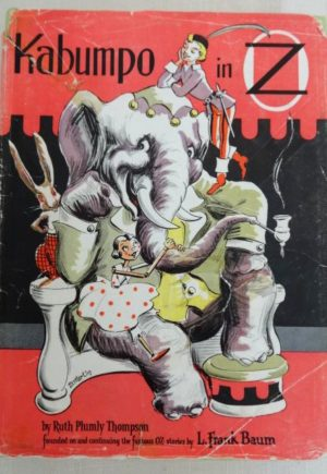 Kabumpo in Oz Dick Martin Dust Jacket