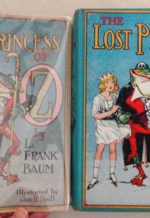 Lost Princess of Oz Book Dust Jacket