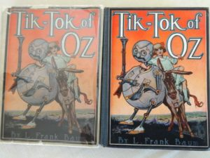 tik tok of oz book dust jacket