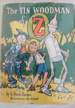 Tin Woodman Roycraft Dust Jacket