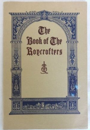 Book of the Roycrofters 1928
