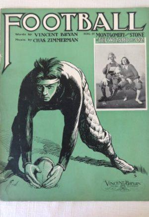 Football Sheet Music Wizard of Oz1