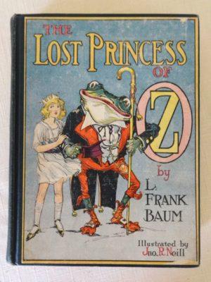 Lost Princess of Oz BOok