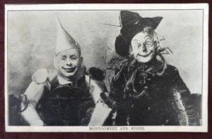 Wizard of Oz Stageplay Postcard Montgomery Stone