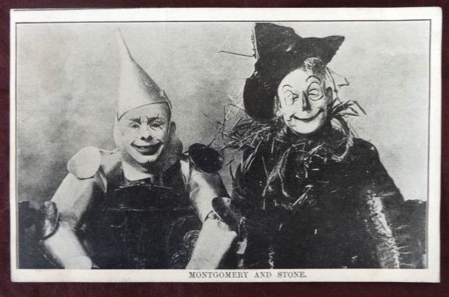 Wizard of Oz Stageplay Postcard Montgomery Stone
