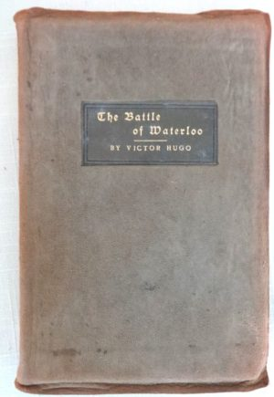 Battle of Waterloo Roycroft Book