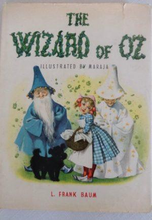 Wizard of Oz Book Maraja Dust Jacket