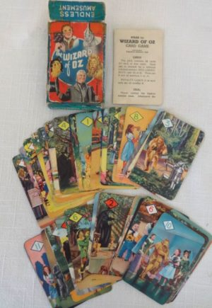 British Wizard of Oz Playing Cards