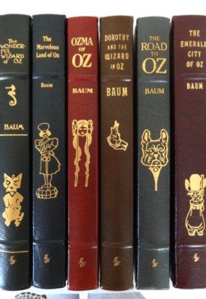 Easton Press Wizard of Oz books