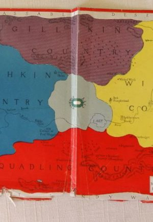 Land of Oz Map 1920