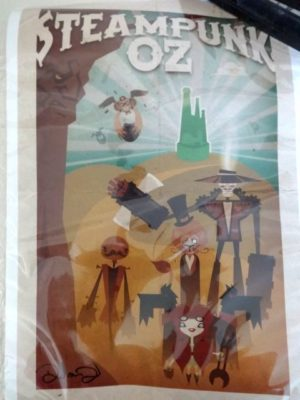 Steampunk OZ POSTER