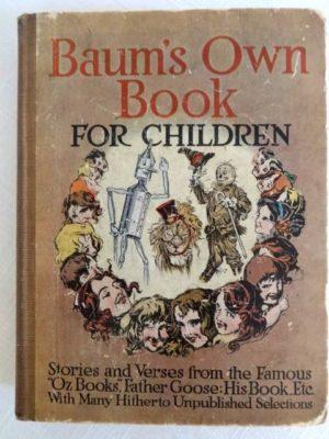 Baums Own Book for children 1912