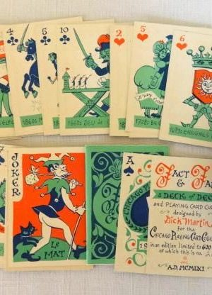 Fact and Fancy Playing Cards Dick Martin Oz