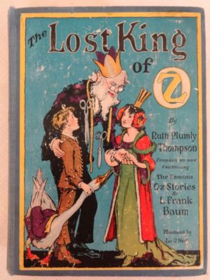 Lost King of Oz book color plates