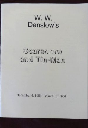 W W Denslow's Scarecrow and Tinman Comic