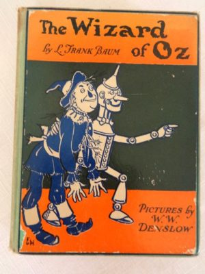 Wizard of Oz book bobbs merrill