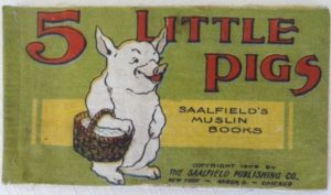5 Little Pigs Saalfield Denslow