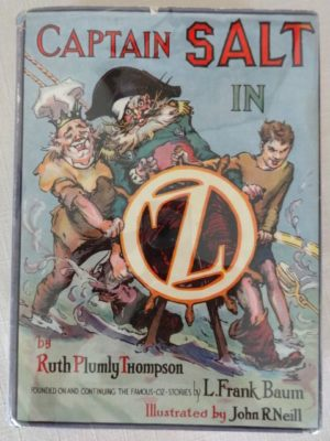 Captain Salt of Oz book dust jacket