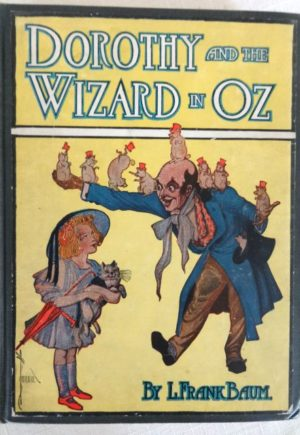 Dorothy and the WIzard in oz book