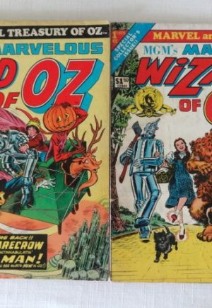 Marve Wizard of Oz Treasury Comic Book