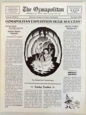 Ozmapolitan 1986 newspaper