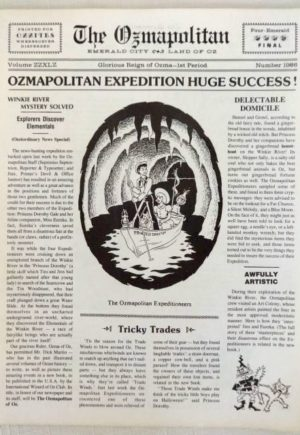 Ozmapolitan 1986 newspaper