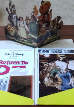 Return to Oz UK British Press Kit