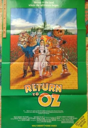 Return to Oz VHS Poster Movie