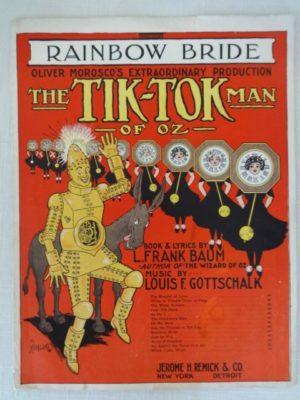 Tiktok Man of Oz Rainbow Bride Sheet Music