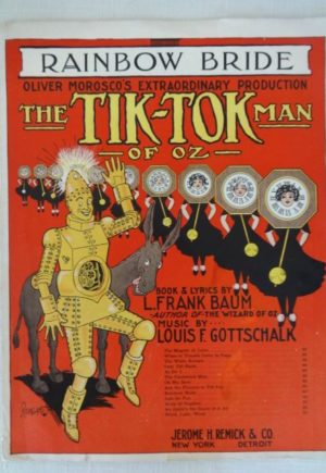 Tiktok Man of Oz Rainbow Bride Sheet Music