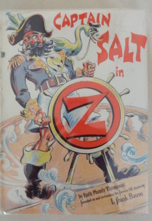 Capn Salt in oz Dick Martin dust jacket