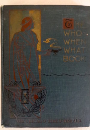 Denslow Who What When Book Cover 1900