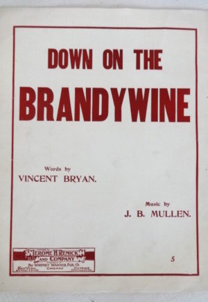 Down on the Brandywine Wizard of Oz sheet music