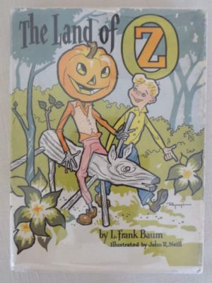 Land of Oz Book Roycraft dust jacket