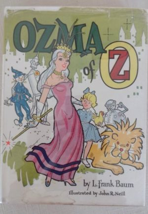 Ozma of Oz Roycraft dust jacket
