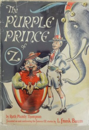 Purple Prince of oz Dick Martin dust jacket