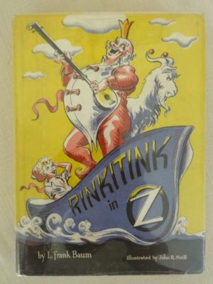 Rinkitink in oz book Dick Martin dust jacket