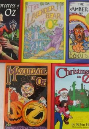 Emerald City Press Limited edition oz book lot