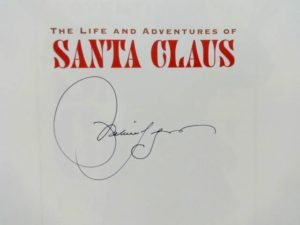 Signed LIFE and ADVENTURES OF SANTA CLAUS Michael Hague L Frank Baum Book