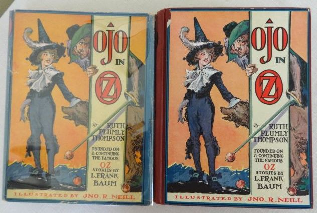Ojo in Oz Book Dust Jacket