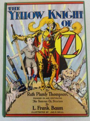 Yellow Knight of Oz Dust Jacket
