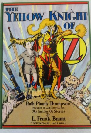 Yellow Knight of Oz Dust Jacket